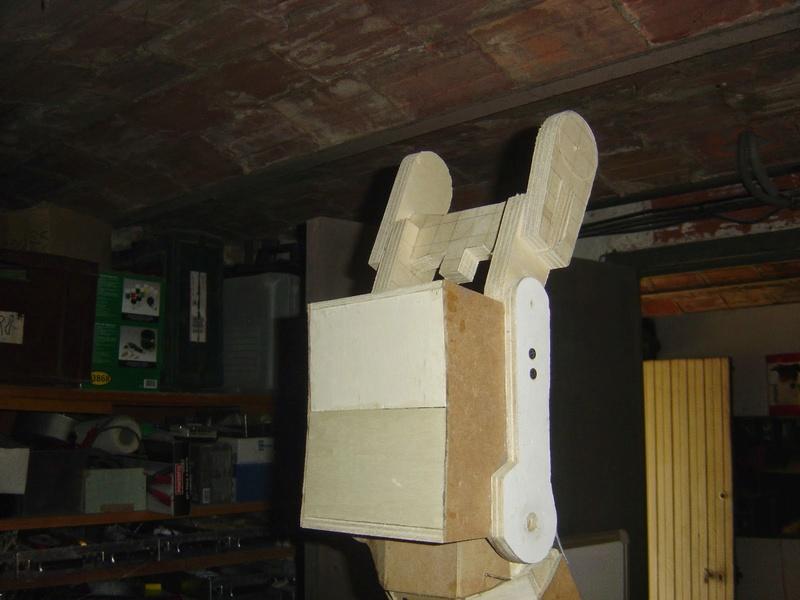 fabrication etape par étape de mon droideka Droide42