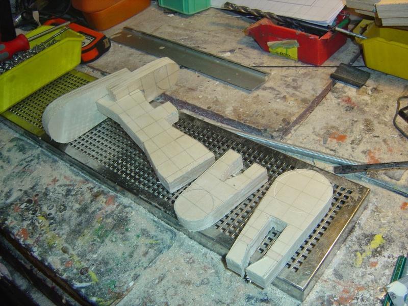 fabrication etape par étape de mon droideka Droide43