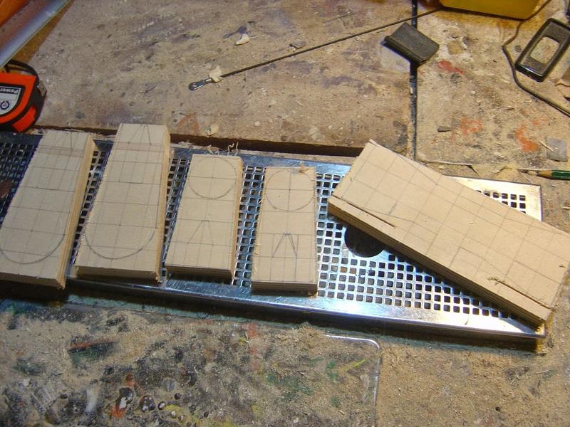 fabrication etape par étape de mon droideka Droide45