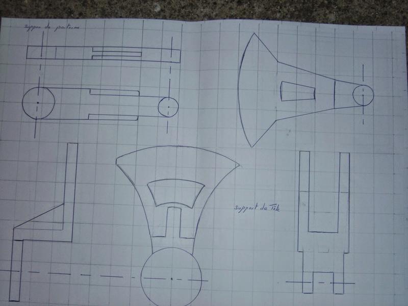fabrication etape par étape de mon droideka Droide50