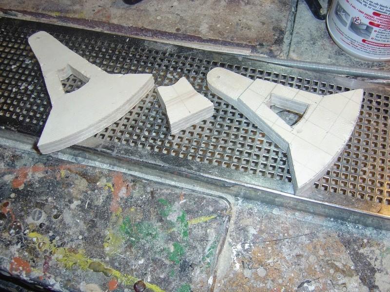 fabrication etape par étape de mon droideka Droide52
