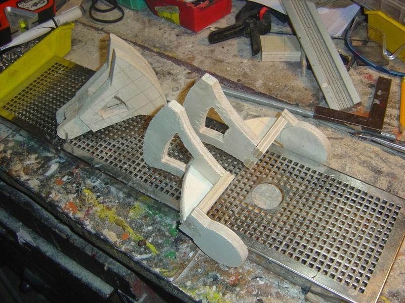 fabrication etape par étape de mon droideka Droide55