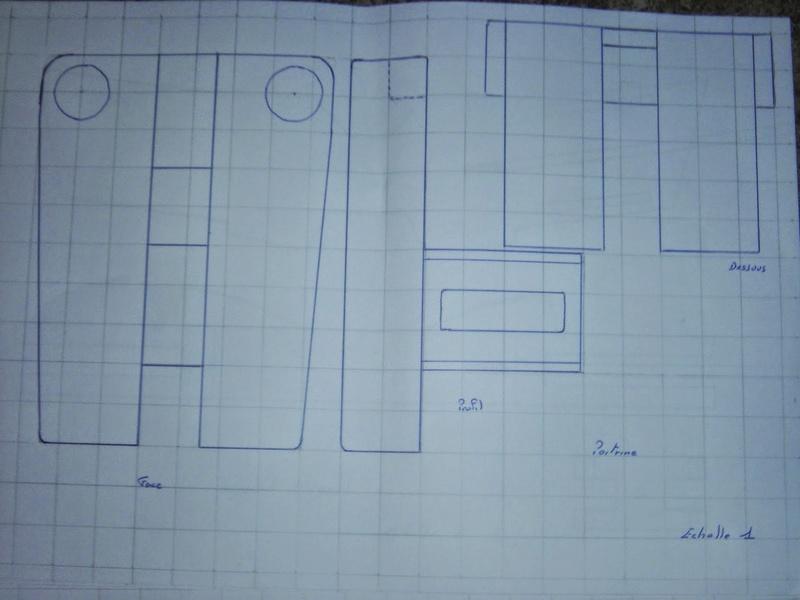 fabrication etape par étape de mon droideka Droide56