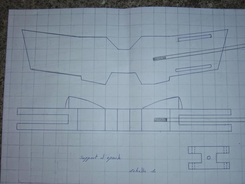 fabrication etape par étape de mon droideka Droide60