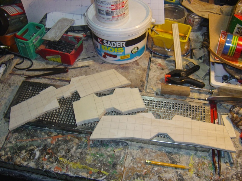 fabrication etape par étape de mon droideka Droide61