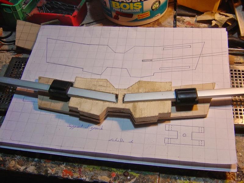fabrication etape par étape de mon droideka Droide62
