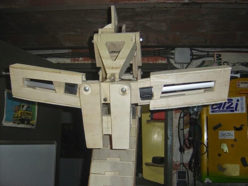 fabrication etape par étape de mon droideka Droide63