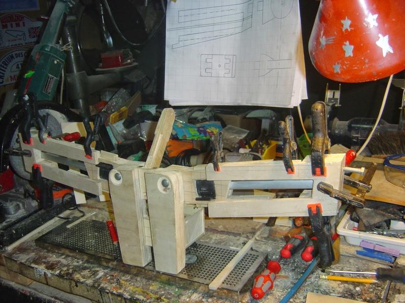 fabrication etape par étape de mon droideka Droide64