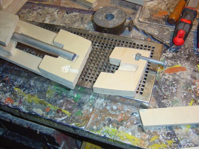 fabrication etape par étape de mon droideka Droide65