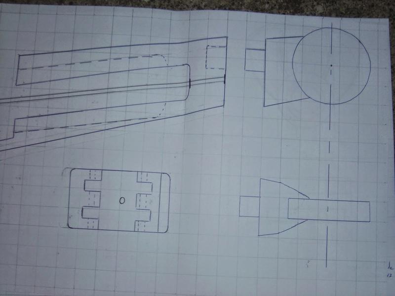 fabrication etape par étape de mon droideka Droide67