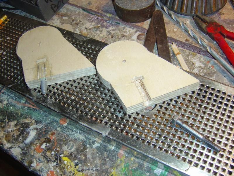 fabrication etape par étape de mon droideka Droide68