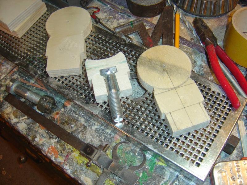 fabrication etape par étape de mon droideka Droide69