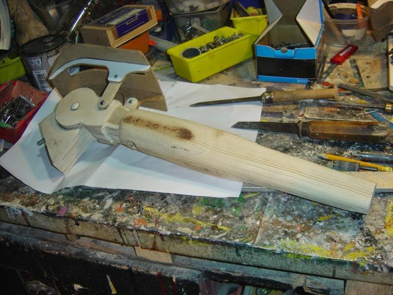 fabrication etape par étape de mon droideka Droide75