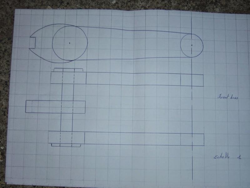 fabrication etape par étape de mon droideka Droide76