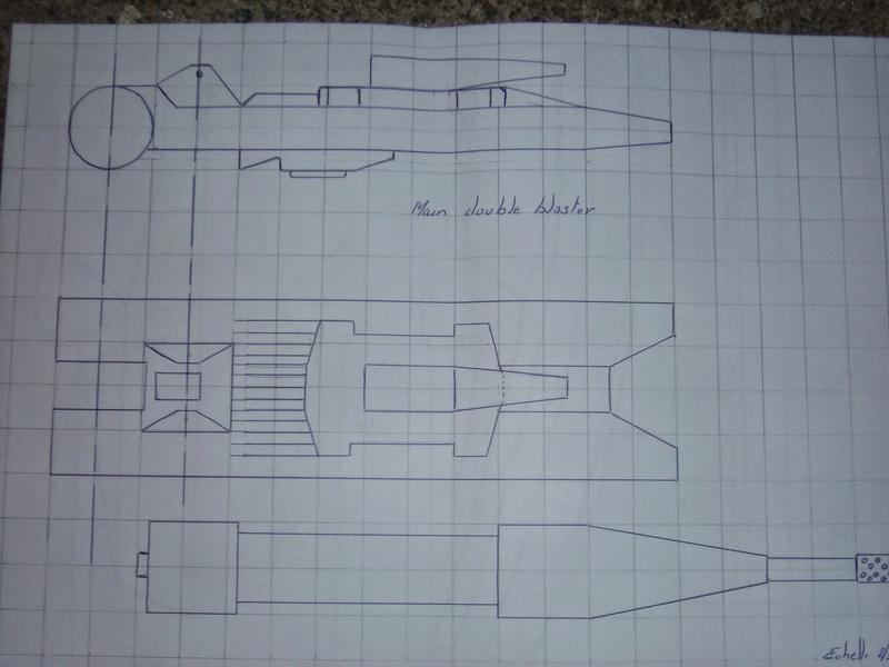 fabrication etape par étape de mon droideka Droide77