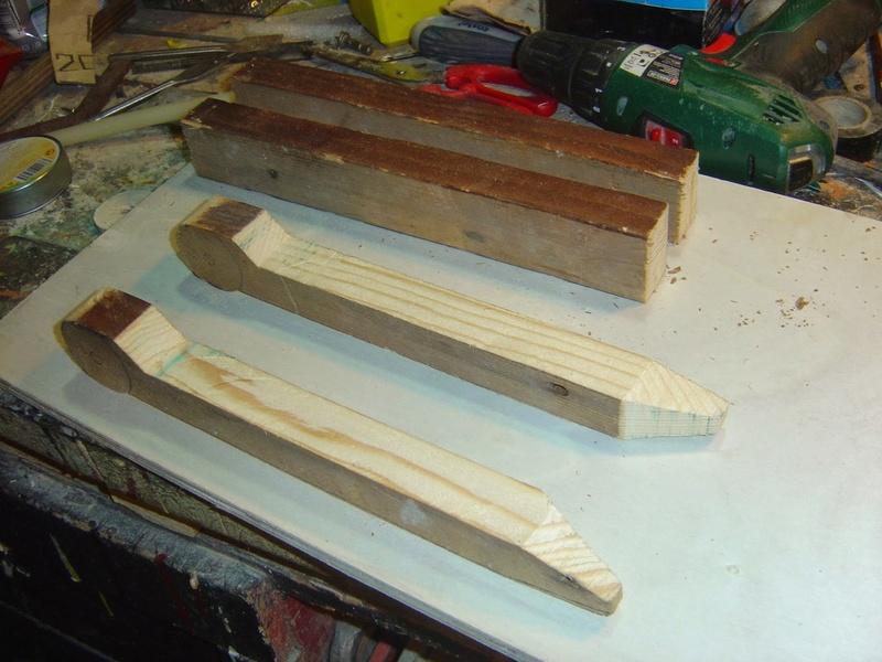 fabrication etape par étape de mon droideka Droide81