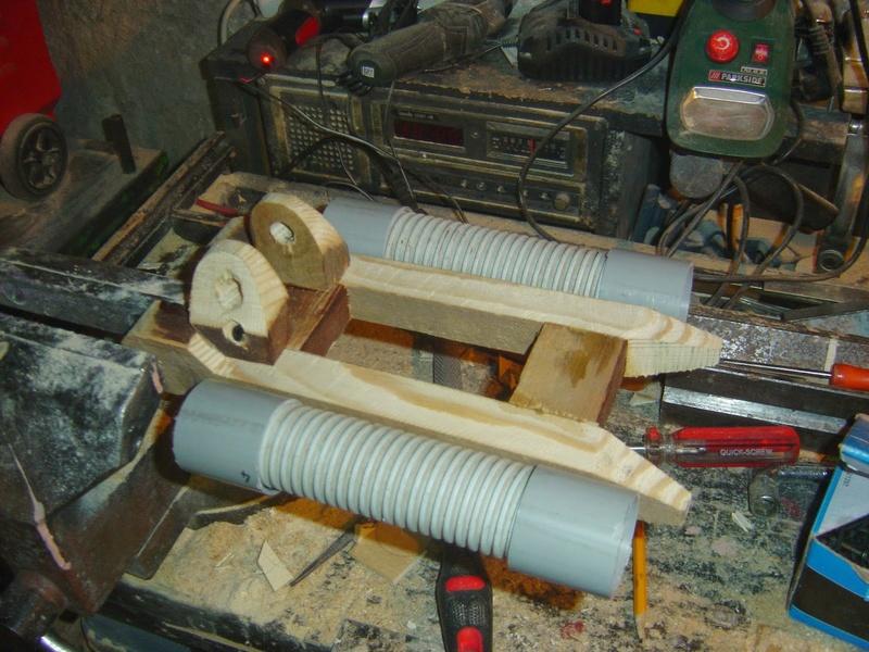 fabrication etape par étape de mon droideka Droide85