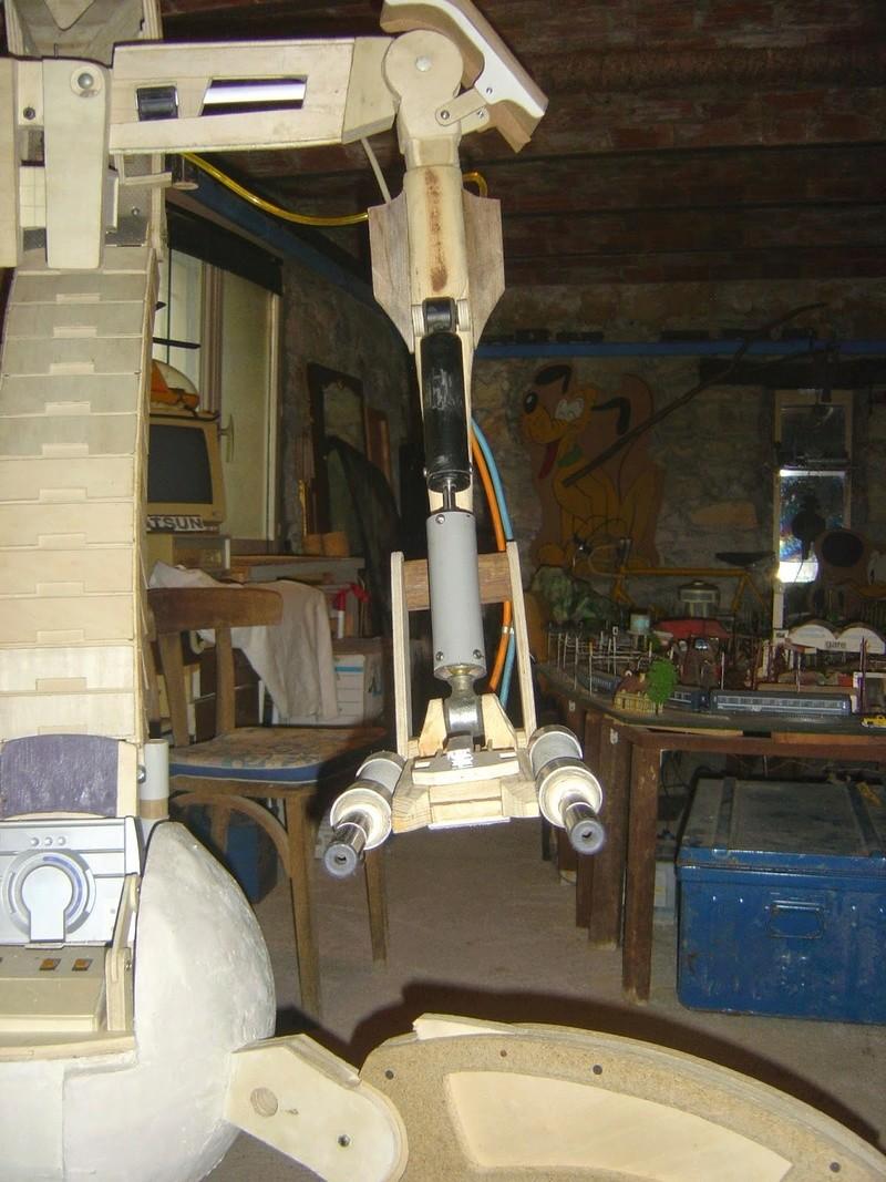 fabrication etape par étape de mon droideka Droide89