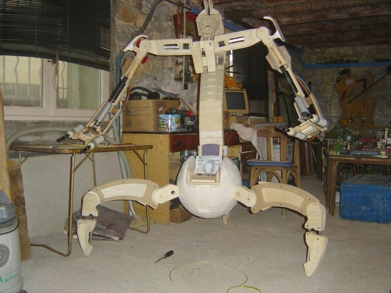 fabrication etape par étape de mon droideka Droide91