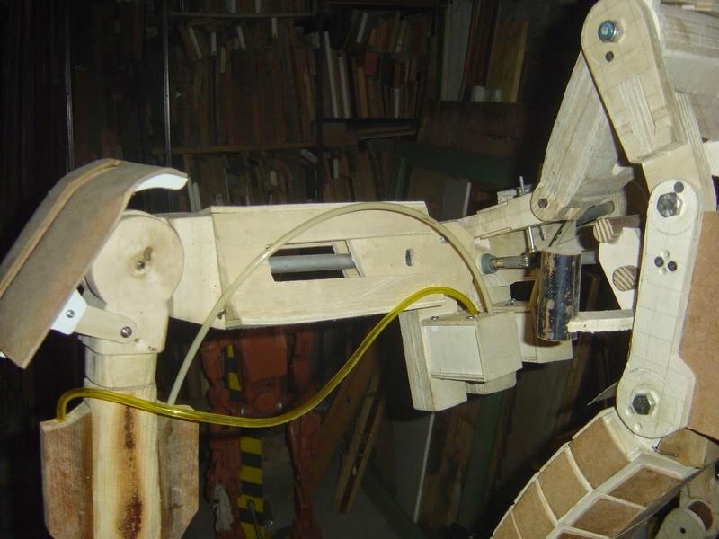 fabrication etape par étape de mon droideka Droide93