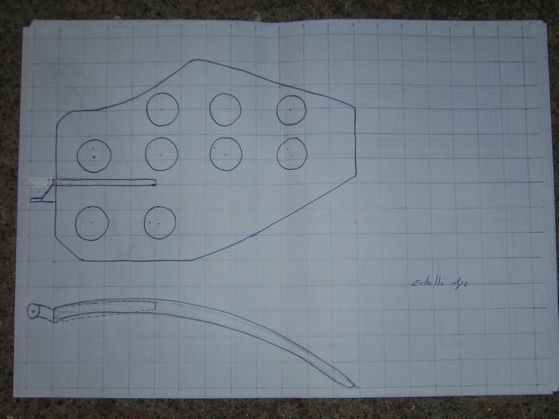 fabrication etape par étape de mon droideka Droide94