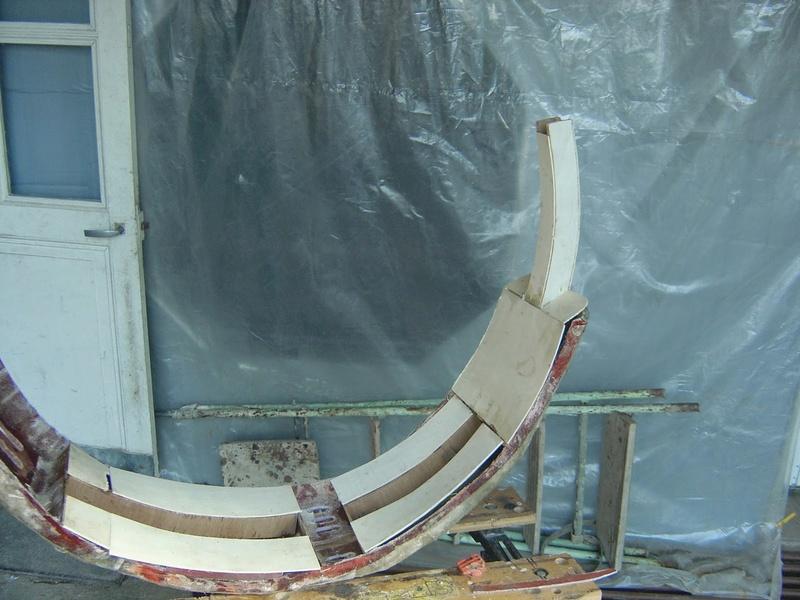 fabrication etape par étape de mon droideka Droide98