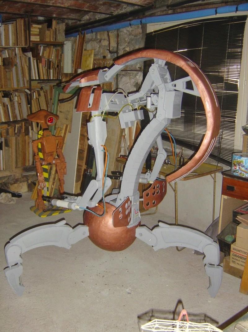 fabrication etape par étape de mon droideka Dsc09420