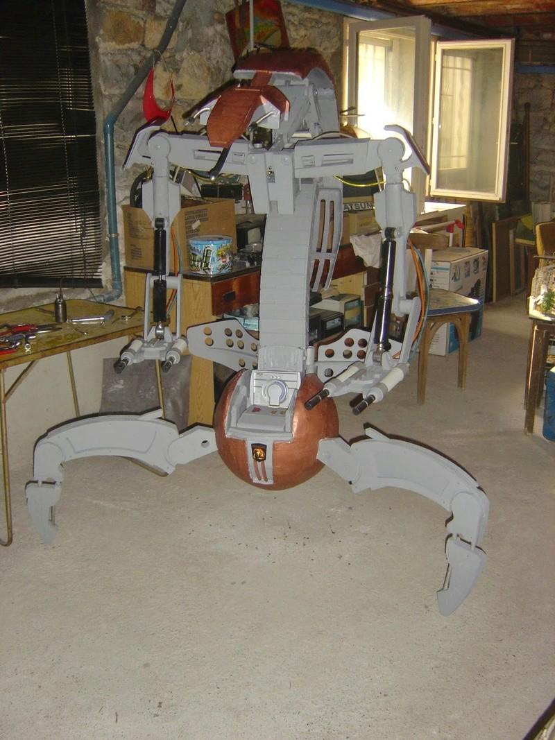 fabrication etape par étape de mon droideka Dsc09422