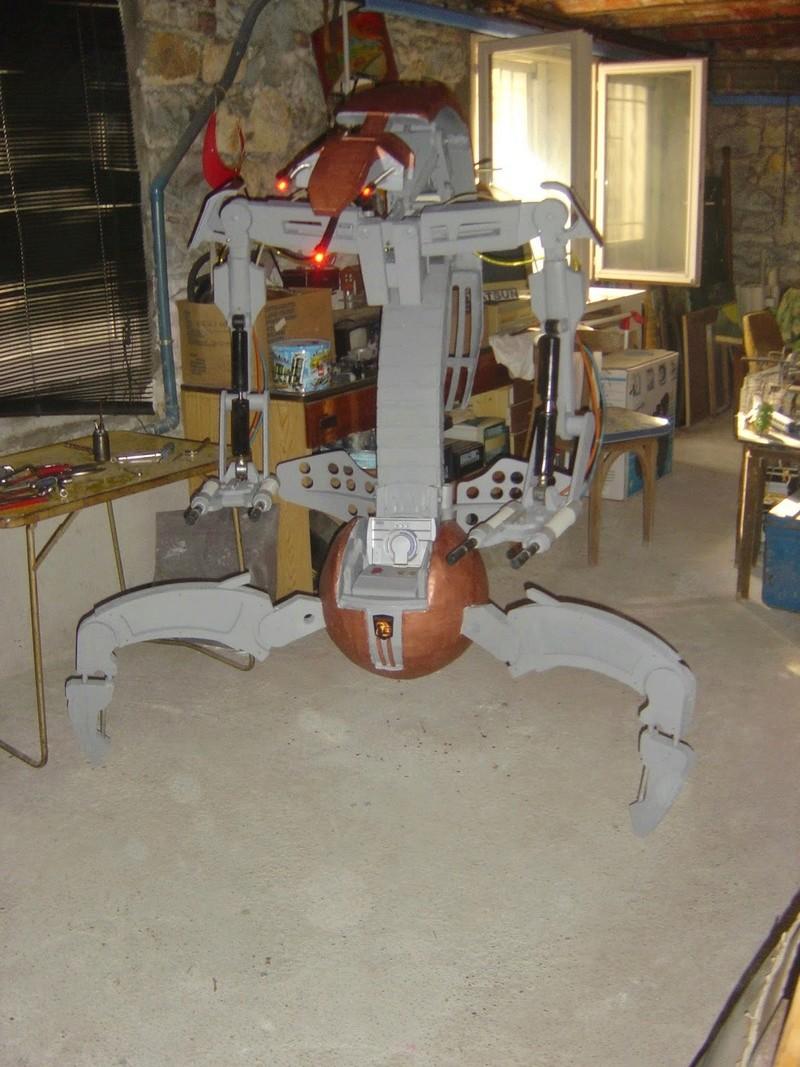 fabrication etape par étape de mon droideka Dsc09423