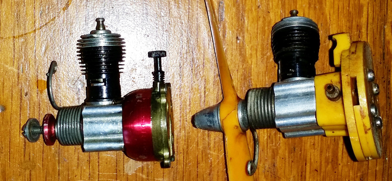 Two Cox .020 Engines $40 Shipped 020-210