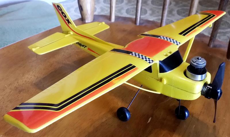 For Sale-Cox E-Z Flyer Aerobat 150 Control Line RTF C111