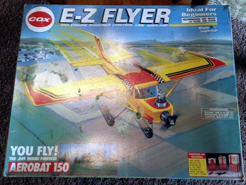 For Sale-Cox E-Z Flyer Aerobat 150 Control Line RTF C311