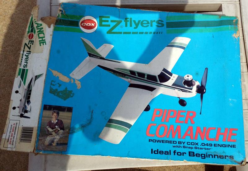 For Sale- Cox RTF Control Line Piper Comanche Co310