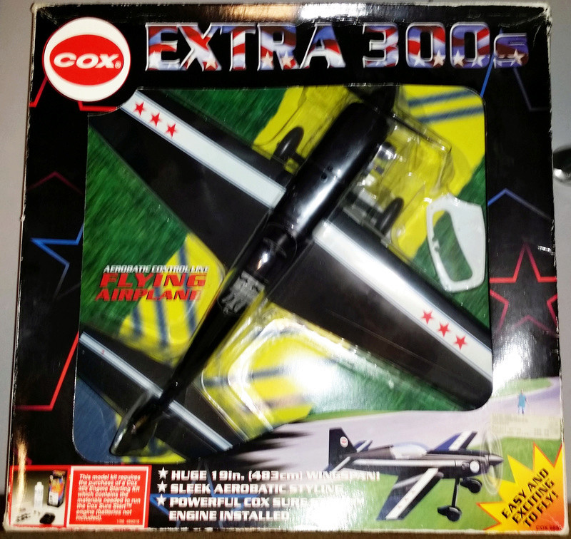 For Sale- NIB Cox RTF Control Line Extra 300 Ex110