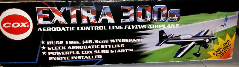 For Sale- NIB Cox RTF Control Line Extra 300 Ex310