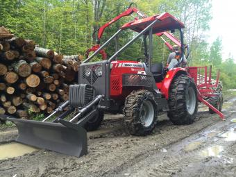 Réalisation d'une lame pousse branche sur MTE 2000 forestier  Le_kit11