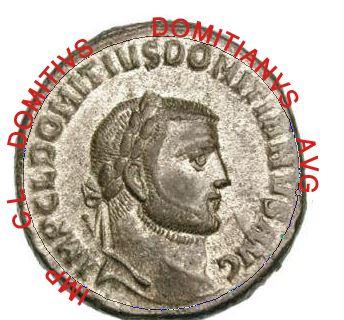 عمله للامبراطور دومتيان ضرب الاسكندريه يقدمه العبد الفقير الصديق الصدوق  1113