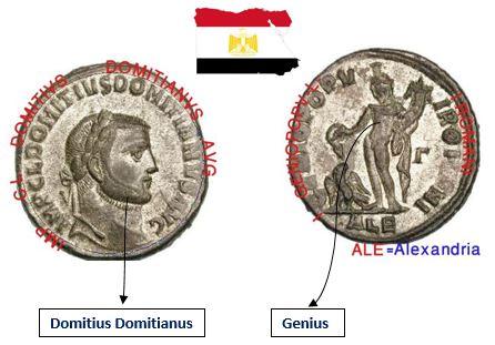 عمله للامبراطور دومتيان ضرب الاسكندريه يقدمه العبد الفقير الصديق الصدوق  Alex13