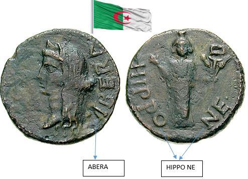 فلس روماني ضرب مدينه عنابا هديه الى الجمهوريه   الجزائريه الغاليه   Algeri10