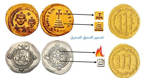 الرسائل التي تحتويها النقود وأهدافها على المدى البعيد بين الدين والقوه  Mix10