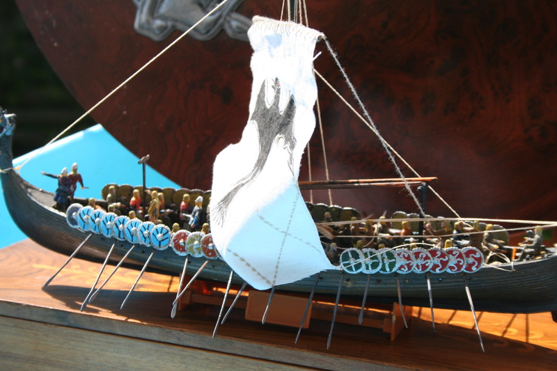 Un longship des hommes du nord au 1/72 e par JJ - Page 2 Img_1050