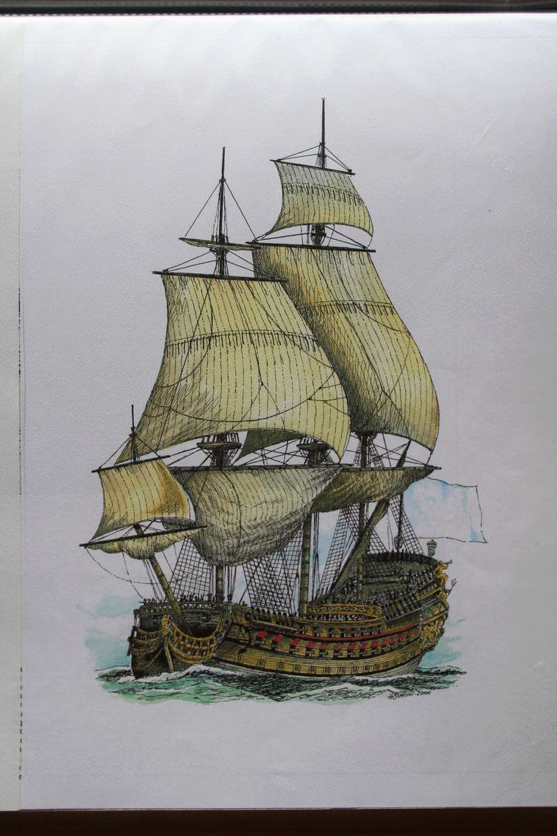 Description complète du Royal Louis 1668 - M. Hayet - 1677 Img_1236