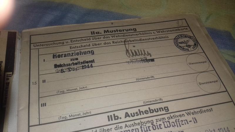 Wehrstammbuch Waffen ss 20170785