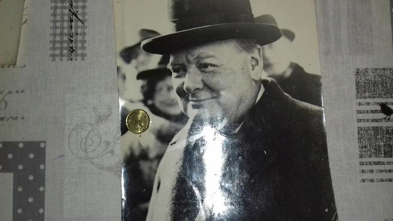 photos ww2 Churchill ; Roosevelt... 20170860