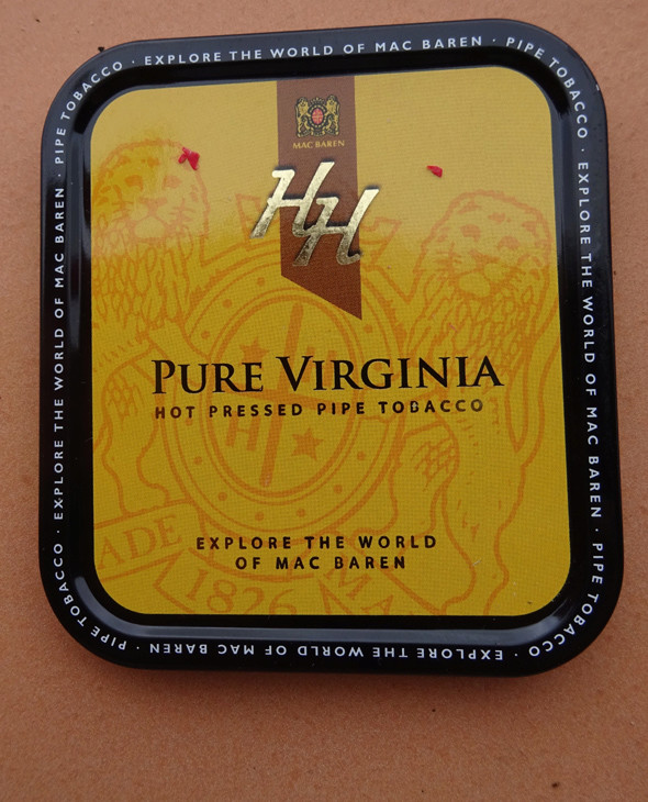 Mac Baren, HH Pure Virginia [Straight Virginia - flakes] Boite10