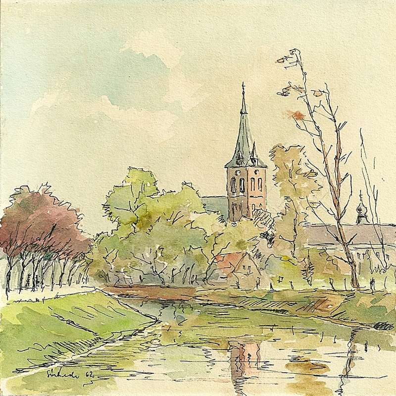 Original Water Colour Paintings - 1962. Scan0015