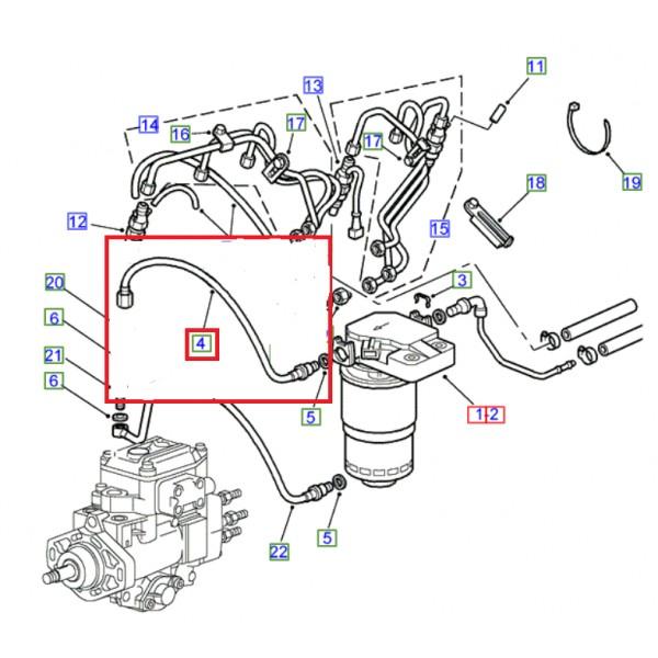 Changement filtre gasoil Tuyau-10