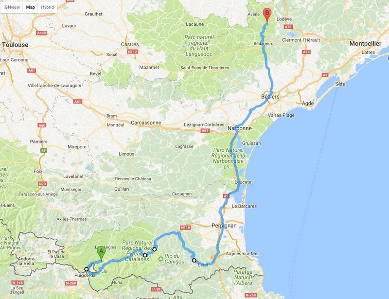 La route des cols: les Pyrénées d'Ouest en Est  Aout2017