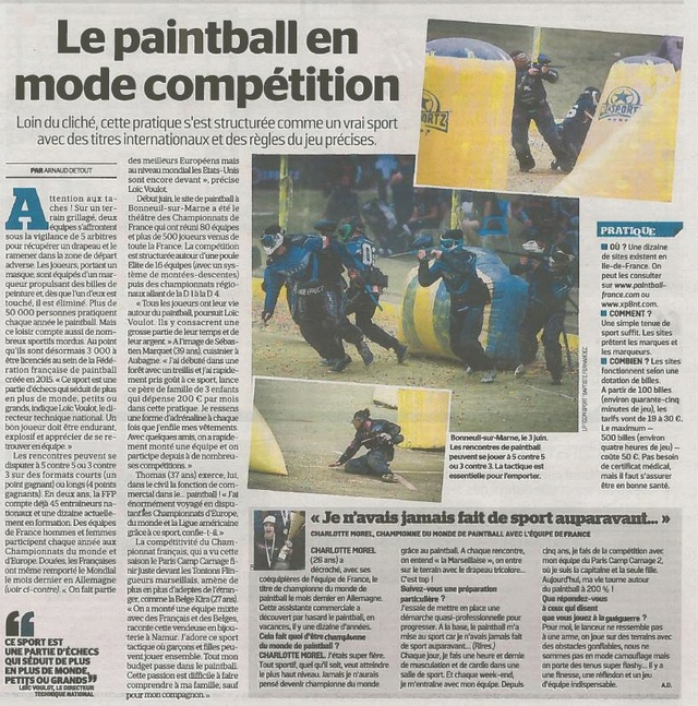 Article Presse /  Championnat de France 2017 Articl10