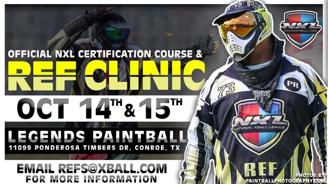 Official NXL Certification Course & Ref Clinic (USA / TX) Nxmref10